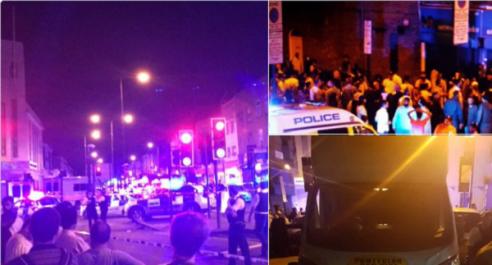 Londres: Un camion fonce dans la foule, plusieurs blessés reportés