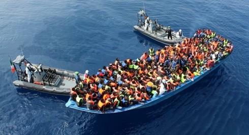 Plus de 8.000 migrants secours en Méditerranée au cours des dernières 48 h