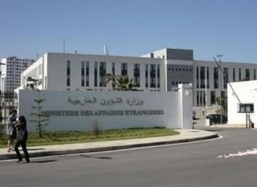 L'Algérie décide d'accueillir des ressortissants syriens bloqués en  territoire marocain (MAE)