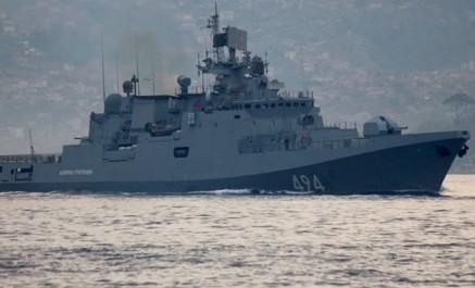 Syrie: la marine russe tire des missiles kalibr contre daech