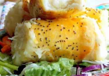 recette manchons au fromage (a la pâte feuilleté)