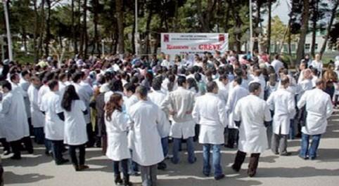 Oum El Bouaghi: Sit-in des médecins généralistes affiliés au SNMG