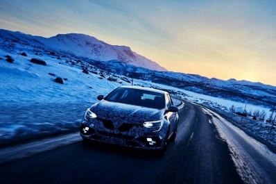 Renault Sport : La Renault Mégane 4 R.S. se frotte à la neige
