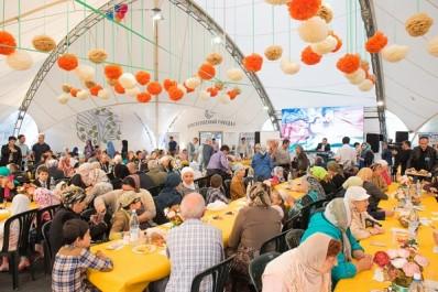 Ramadan: Chaleur et ambiance algériennes lors d'un Iftar à Moscou