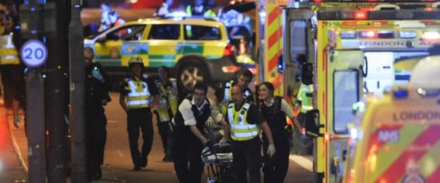 Attaques « terroristes » sur le London Bridge et à Borough Market (police)