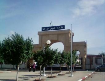Université Djilali-Bounaâma De Khemis Miliana Sit-in pour dénoncer le meurtre du Pr Karaoui