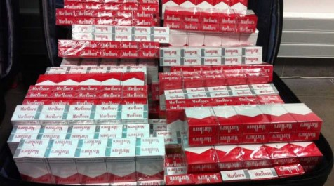 Tébessa: Saisie de 10 500 paquets de cigarettes sur la RN 10