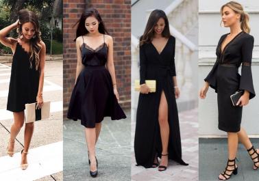 D'une simple robe noire classique à une magnifique robe de soirée