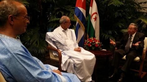 Brahim Ghali à Cuba: La Havane réitère son soutien à la cause sahraoui (presse cubaine)