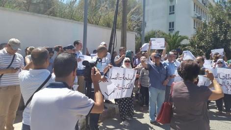 Enseignement supérieur: sit-in devant le siège du ministère pour protester contre la violence dans les universités