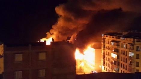 Incendie à l'intérieur d'une habitation: Des blessés et des dégâts matériels à Médéa