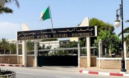Signature d'une convention de partenariat entre l'université de Boumerdès et l'agence locale de l'Emploi
