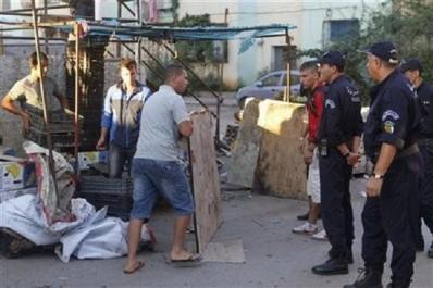 Sidi Bel Abbès: La police sévit contre le squatt des trottoirs par les revendeurs informels