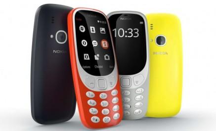 Le Nokia 3310 ressuscité sous forme de 3 nouveaux smartphones