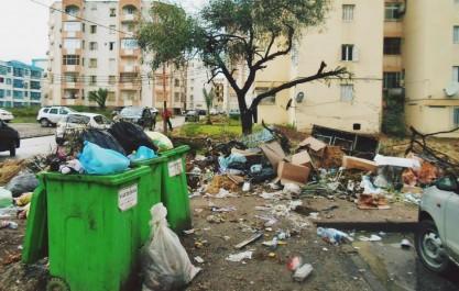 Blida: 165 000 tonnes d'ordures ménagères enlevées durant les six derniers mois