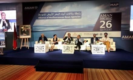 Les agences de presse méditerranéennes plaident pour plus de financements publics