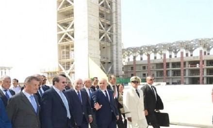 Tebboune ordonne l'accélération de la cadence de réalisation de la Grande mosquée d'Alger pour sa réception avant la fin 2017