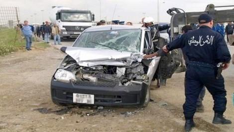 Mascara : 53 blessés dans des accidents de la route en juillet