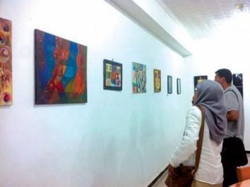 Complexe culturel du chenoua: Exposition d'arts plastiques