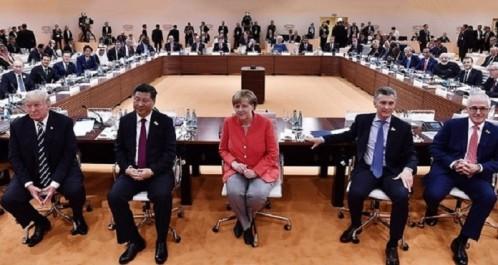 Climat: le G20 prend acte de l'isolement des Etats-Unis