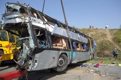 Allemagne: Au moins 31 blessés et 17 disparus dans un accident de bus au sud