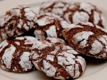 Crinkles; biscuits au chocolat méga moelleux