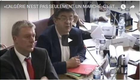 Vidéo: Jean Luc Mélenchon « L'Algérie n'est pas seulement un marché, c'est un peuple et une nation proche des nôtres »