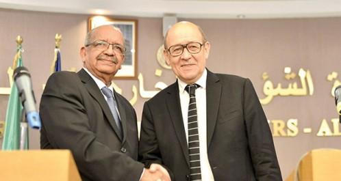 Algérie-France: entretien téléphonique entre Messahel et Le Drian