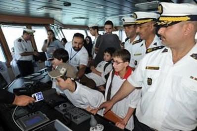 Sur initiative du commandement des forces navales: Des enfants autistes découvrent la mer
