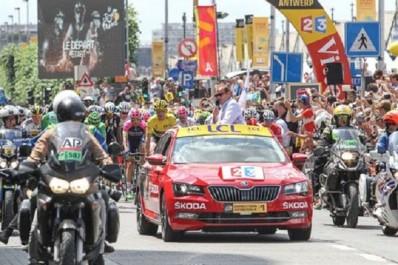 Skoda : Première sortie publique du Karoq au Tour de France