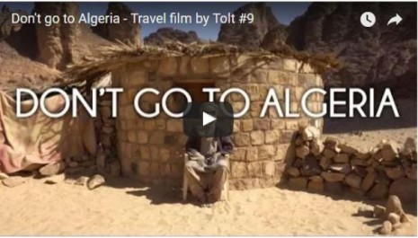 Vidéo: «N'allez pas en Algérie»