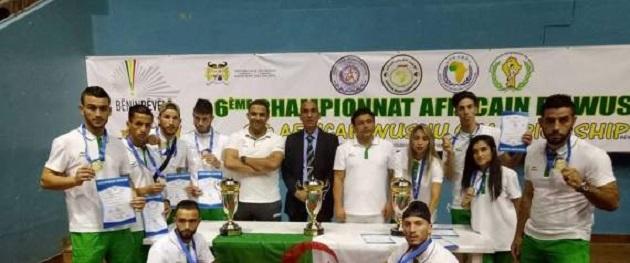Championnats d'Afrique de wushu: l'Algérie prend la 2ème place avec 9 médailles d'or