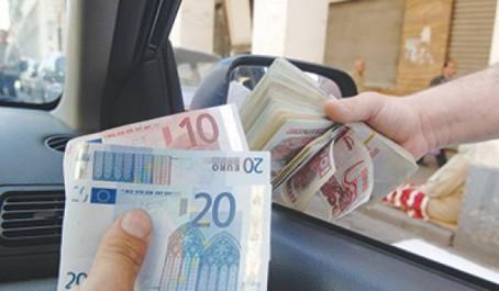 Marché parallèle des devises: Vers 200 dinars algériens un euro