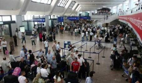 L'anomalie de l'aéroport