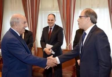 Tebboune reçoit le directeur du département Moyen-Orient, Afrique du Nord et Asie Centrale au FMI