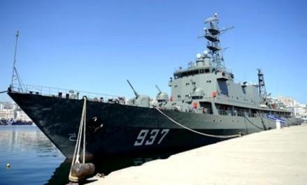 Le bateau- Ecole «La Soummam» se dirige vers le Portugal