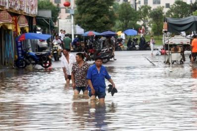 Inondations en Chine: 40 morts et disparus dans le centre et le sud du pays