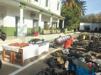 Trafic de corail Un important lot d'équipements de pêche illicite récupéré à l'Allélick