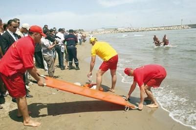 La protection civile dresse son bilan: Près de 500 baigneurs sauvés, depuis le début de la saison estivale