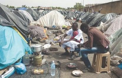 Tébessa: Incendie dans un camp des réfugiés subsahariens