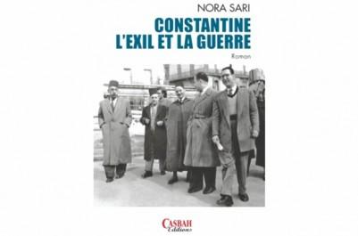 """Dans sa deuxième oeuvre «Constantine, l'Exil et la guerre """"  : Nora Sari ressuscite Constantine des années 50"""