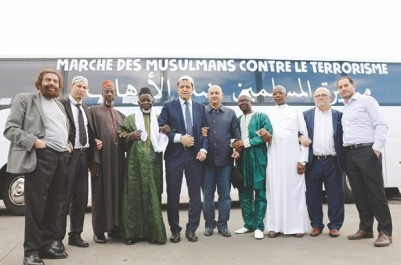 """L'initiative démarre de Paris et touche plusieurs pays d'Europe: Une """"marche des musulmans contre le terrorisme"""""""
