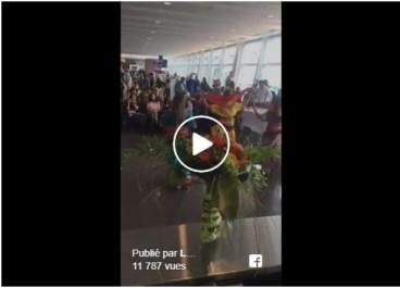 Vidéo: spectacle de danse lors de l'inauguration de la ligne Montréal-Alger d'Air Canada