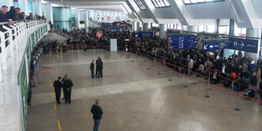 Arrestation à l'aéroport d'Alger d'un individu faisant l'objet d'un mandat d'arrêt pour trafic de drogue