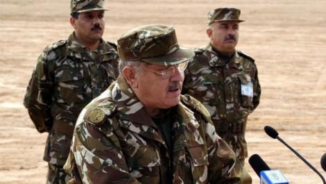 Djelfa: Gaïd Salah supervise l'opération de la destruction du stock restant des mines antipersonnel
