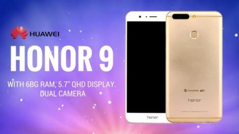 Huawei Honor 9 : De nouveaux rendus pour la phablette borderless!