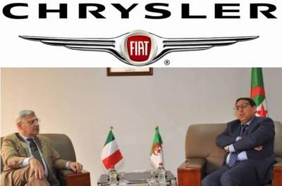 Fiat Chrysler veut s'installer en Algérie