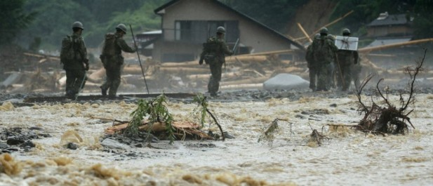 Japon : le bilan des inondations monte à 18 morts
