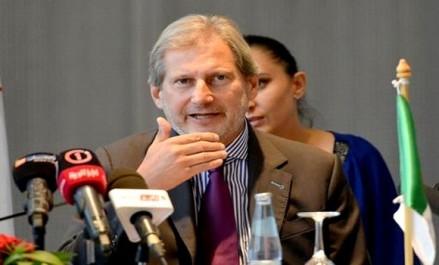 Johannes Hahn «L'UE continuera à soutenir l'Algérie dans ses efforts pour diversifier son économie»