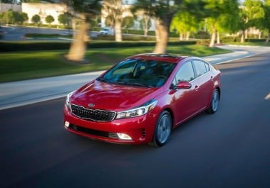 IIHS : TOP SAFETY PICK+ pour la Kia Cerato
